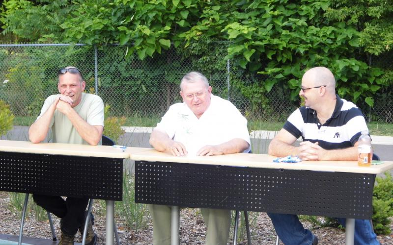 Judges: Chef Justin Straube, Larry Adams and guest judge, Mark Wagner.