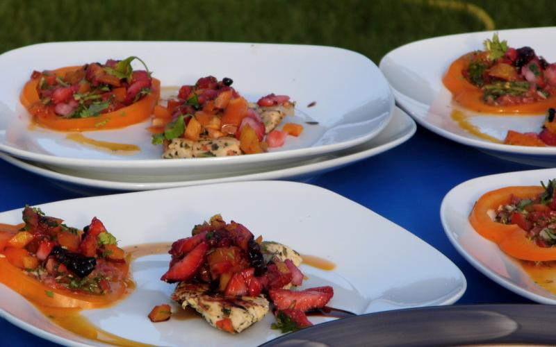 Chef Richard's dishes look delicious as well!