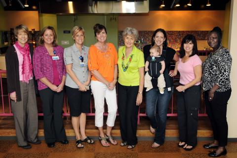 The HGB Women's Advisory Council who helped coordinate the event.